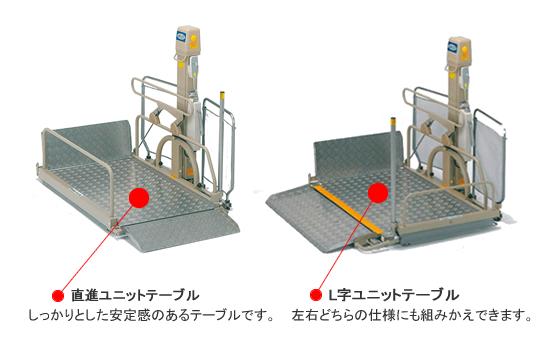 車いす用 電動昇降機 UD-320C
