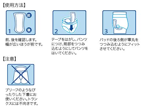 ポイズパッド(14枚×9)男性用