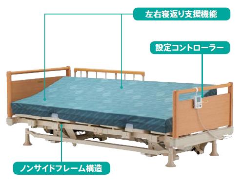 自動寝返り支援ベッド FBN-640